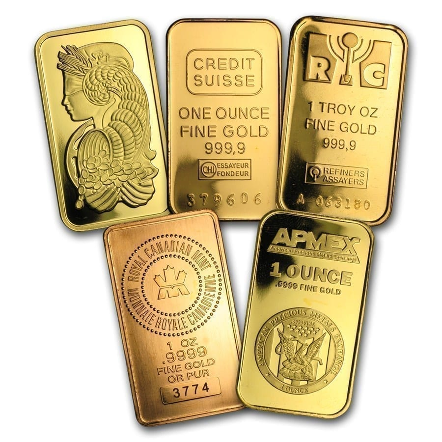 1 Oz Gold Bar Secondary Market Arnold Jewelers