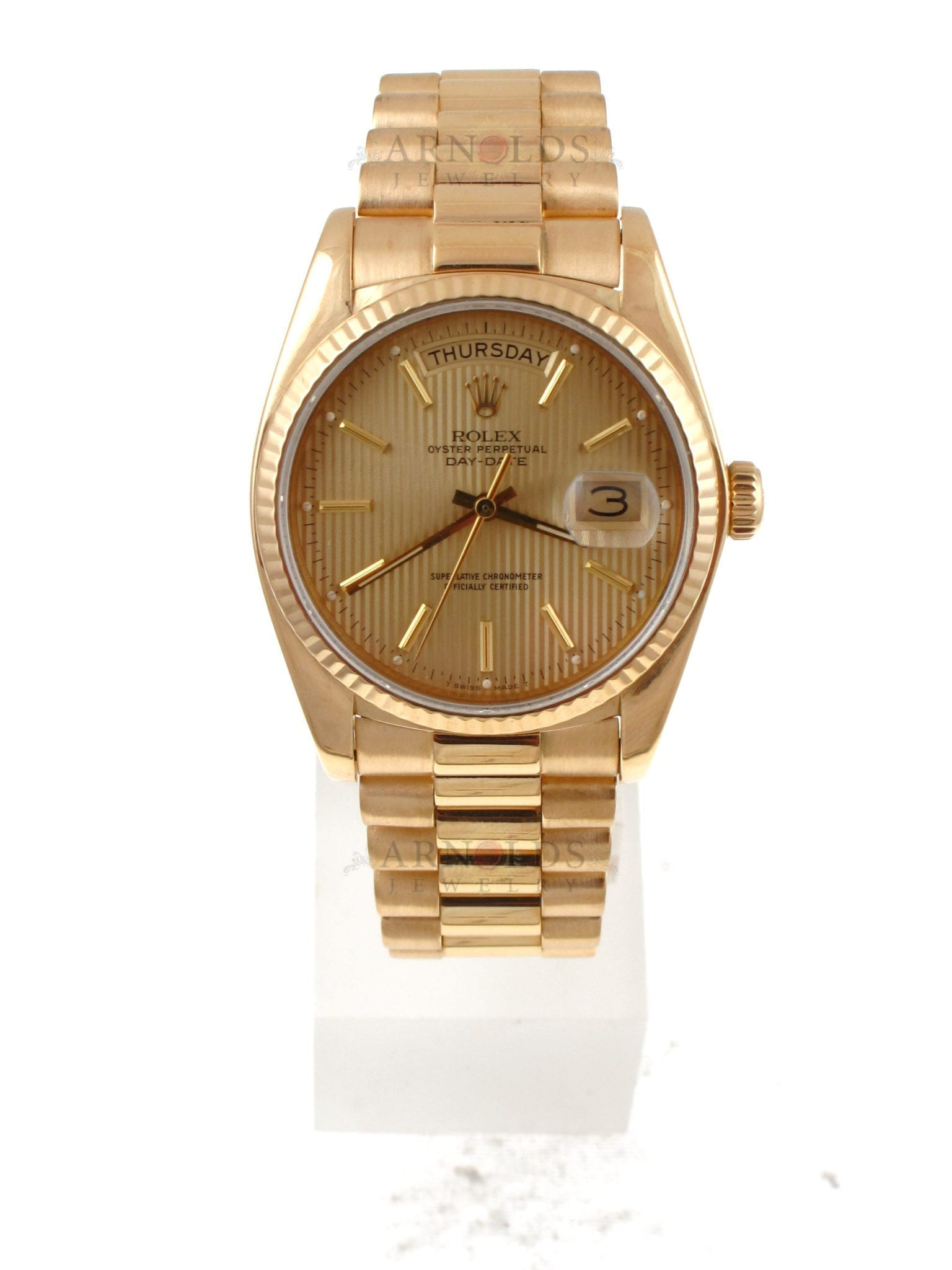 presidential diamond sell consign president watch rolex watches used in gold yellow buy date day