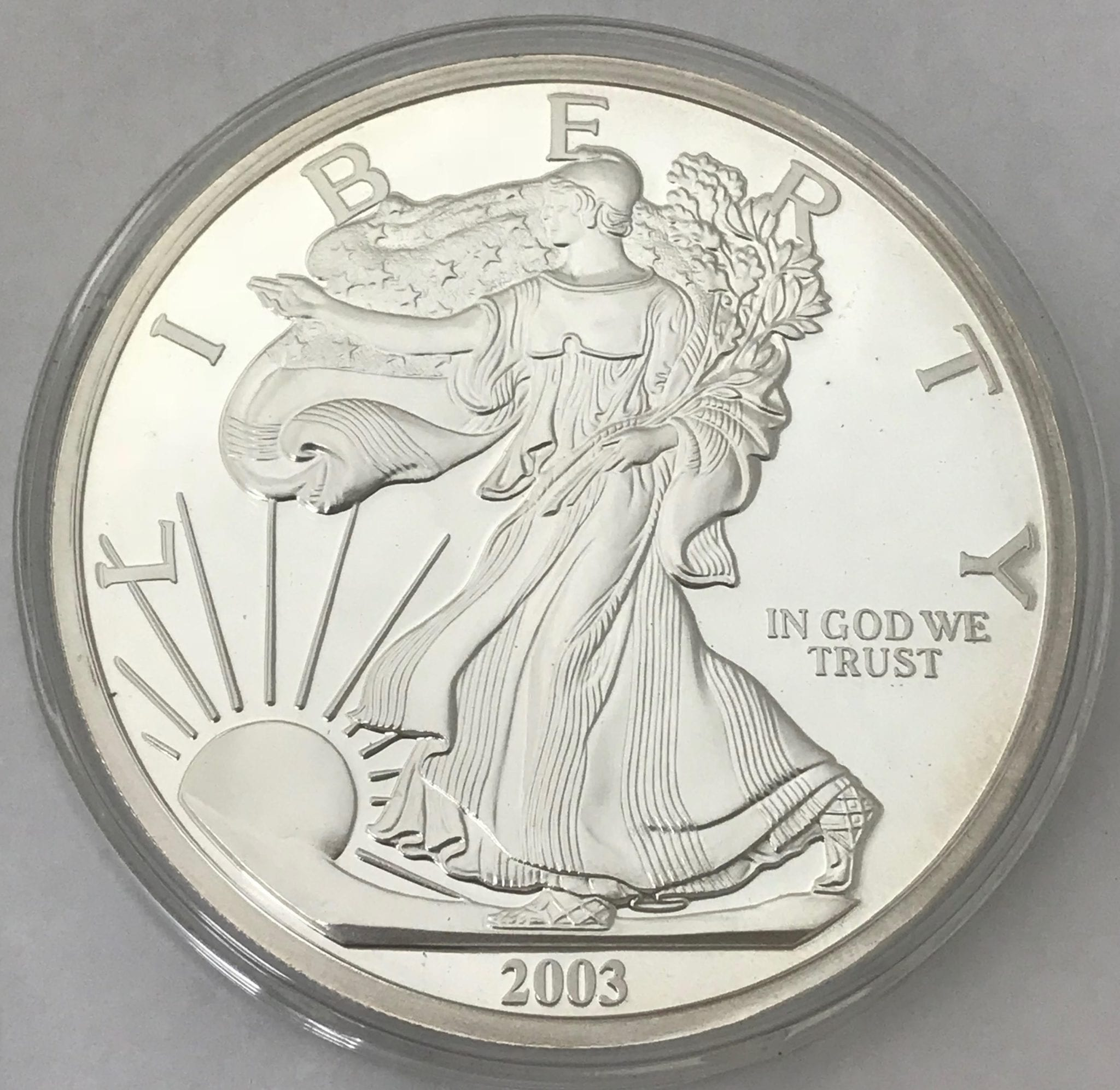 Silver Eagle Round 11 97 Troy Oz
