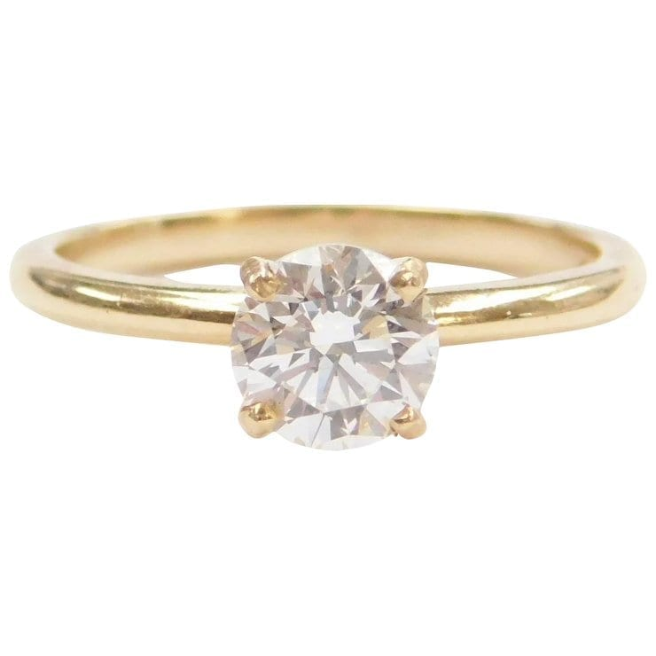 9b0b418326581 97 Carat VS Diamond Solitaire Engagement Ring 14k Gold | Arnold Jewelers